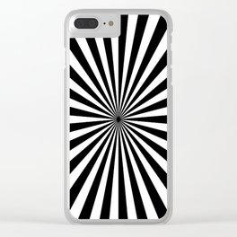 2017 COLLECTION| BLACK AND WHITE |  OPTICAL Clear iPhone Case