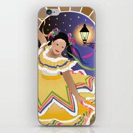 Fiesta Mexican Dancer iPhone Skin