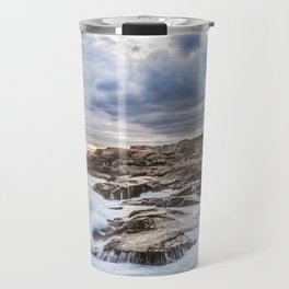 Crashing Waves At Prospect, Nova Scotia #3 Travel Mug