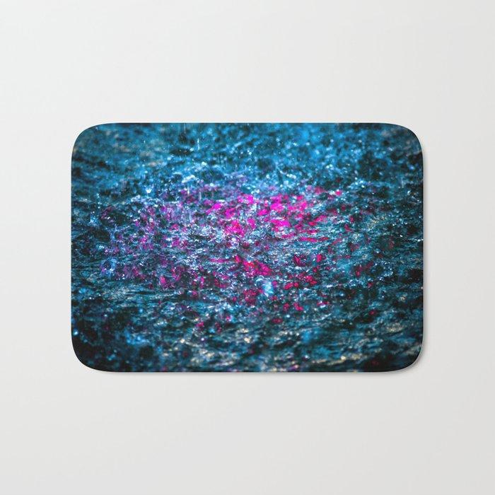 Water Color - Violet - Purple Bath Mat