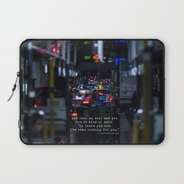 The Point Of Contact Laptop Sleeve