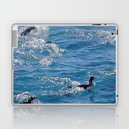 King Penguins Swimming Laptop & iPad Skin