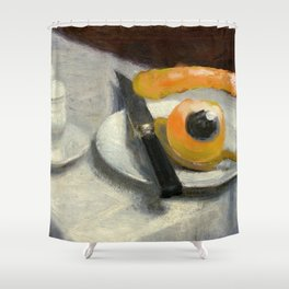 still life with eye Shower Curtain