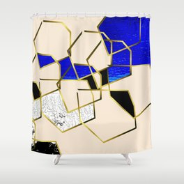LOOKING AT THE SEA AND MY LOVE. WALKING IN PURSUIT OF PEACE. Shower Curtain