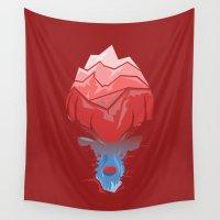 elk Wall Tapestries featuring Elk by Trevor Seymour