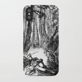 Murder in the Pines iPhone Case