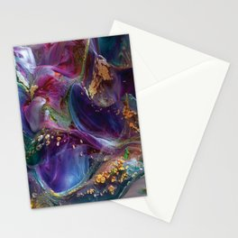 3D Paint Texture Abstract Art Stationery Cards