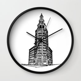 the Electric Tower Wall Clock