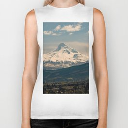 Mountain Valley Pacific Northwest - Nature Photography Biker Tank