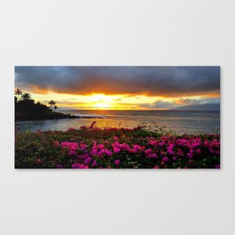West Maui Sunset Canvas Print