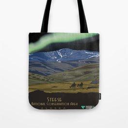 Vintage poster - Steese Tote Bag