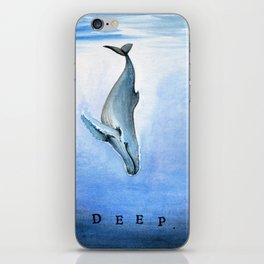 Deep - Whale 21 iPhone Skin