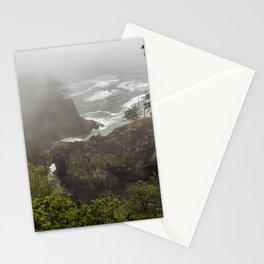 Fog Over Natural Bridges Stationery Cards