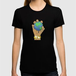 Quality Key: World at the Palm T-shirt