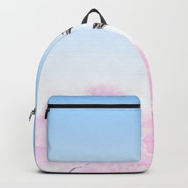 Temple and sakura Backpack