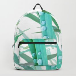 Dew on grass, 2 version Backpack