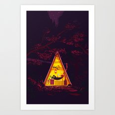 The Hideout – Night Version Art Print