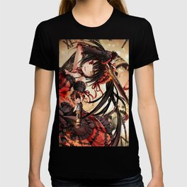 date a live ready composure T-shirt