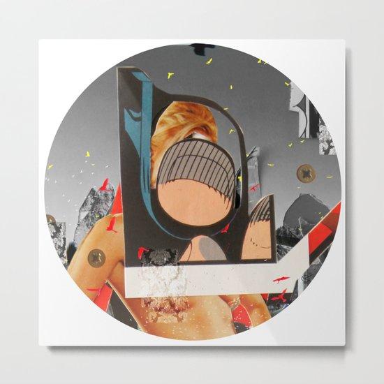 Essence Of Life · Zwischenwelten · Transfer & Dream · Crop Circle Detail 1 Metal Print