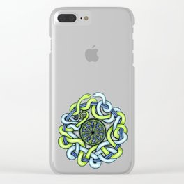 Tangled Serpents Clear iPhone Case