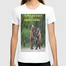 Baby Bears at Play T-shirt