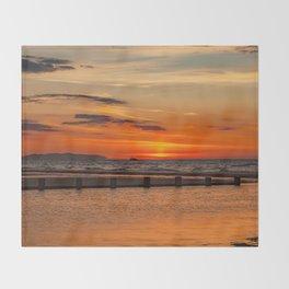 Sunset Seascape Throw Blanket