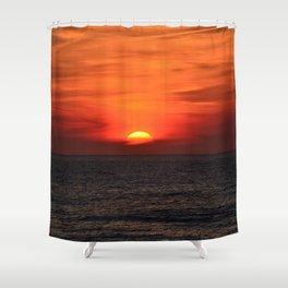 so sunset! Shower Curtain