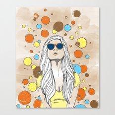 Feeling Bubbly Canvas Print