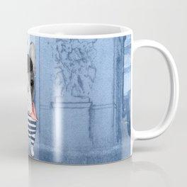 Frenchie with Arc de Triomphe Coffee Mug