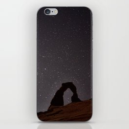 Delicate Arch at Night iPhone Skin