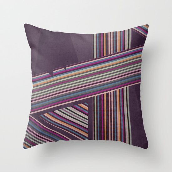 In Rainbows Throw Pillow