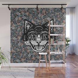 The Creative Cat Wall Mural