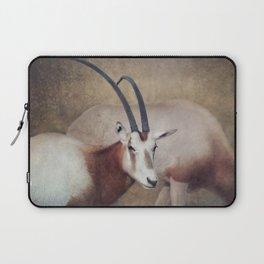 Scimitar oryx Laptop Sleeve