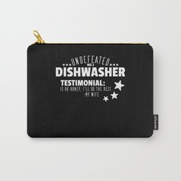 Undefeated Dishwasher Carry-All Pouch