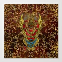 Garuda - bird of Vishnu Canvas Print