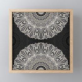 Mandala Mehndi Style G384 Framed Mini Art Print