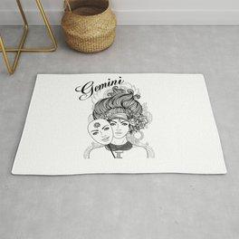 Gemini Zodiac Rug