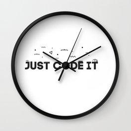 Just code it design - programming Wall Clock