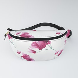 Pink spring flowers Fanny Pack