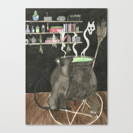 Witches Kitchen Canvas Print