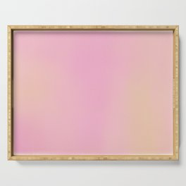 Fairyfloss Pink (Dreamy Abstract Art) Serving Tray