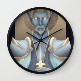 Authen, Commander of Paladins. Wall Clock