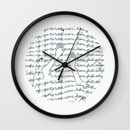 The Daily Drown Wall Clock