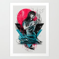Suffocated Art Print