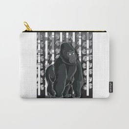 Lonely Gorilla In The Mountain High Carry-All Pouch