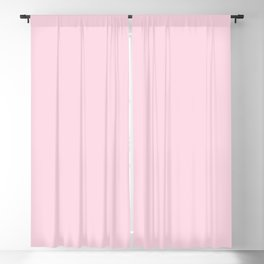 From Crayon Box – Piggy Pink - Pastel Pink Solid Color Blackout Curtain