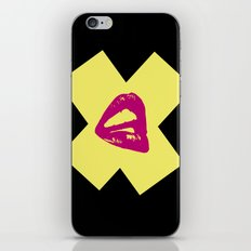 Kiss X iPhone & iPod Skin