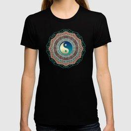 Bohemian Batik Yin Yang T-shirt