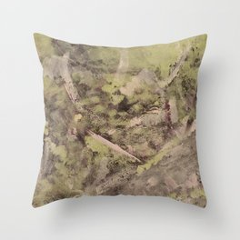 Touch of silver Throw Pillow