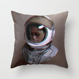 Spacewalker, The 100 Throw Pillow